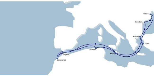CMA CGM LAUNCHES BLACK SEA MED EXPRESS SERVICE TO LINK ALGERIA TO EUROPEAN COUNTRIES