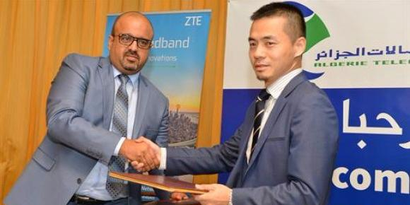 Algerie Telecome, Huawei ink a new partnership contract in Oran