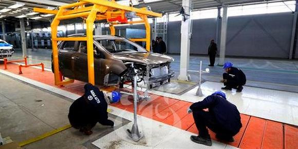 Algiers-Cleaning up car assembly industry, developing new strategy for mechanical industries
