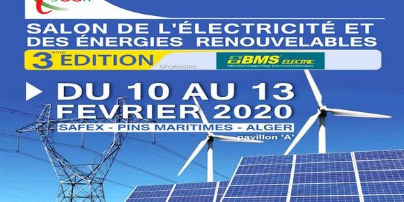 Algiers-Energy: 3rd Electricity, Renewable Energy Exhibition from 10 to 13 February in Algiers