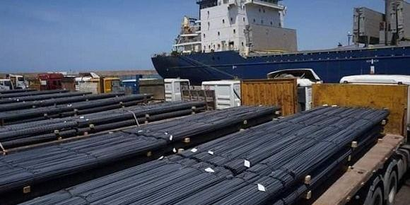 Algeria:Mostaganem port, Over 30 000 tonnes of reinforced concrete exported to US, Canada and UK