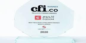 Maroc:         Inclusion financière : Eqdom distinguée par Capital Finance International