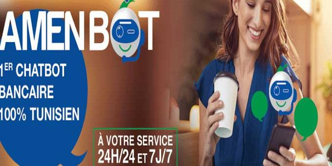 Tunisie:AMEN BANK lance «AmenBot»,le premier Chatbot bancaire intelligent en Tunisie