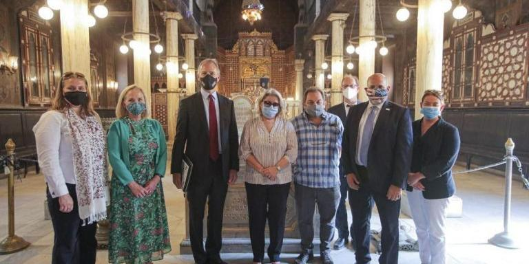 Egypt : USAID grants over $100m for conservation of Egyptian archaeological sites