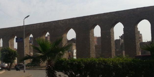 Egypt :  Investment priced' apartments being built behind Cairo Citadel Aqueduct